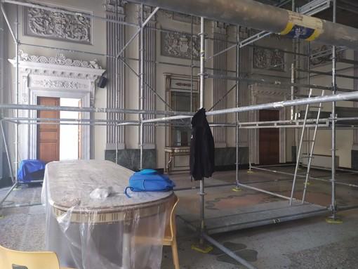 Imperia: il comune avvia il restauro dei mobili di pregio del palazzo comunale, del Cavour e di villa Faravelli
