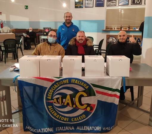 Gli allenatori della provincia di Imperia scelgono Vincenzo Stragapede, secondo mandato per il presidente AIAC