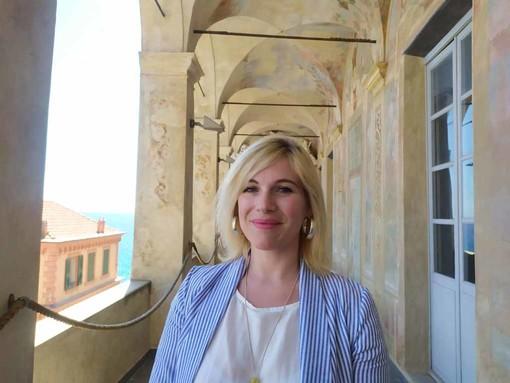 Simona Gazzano, presidente del Circolo Parasio
