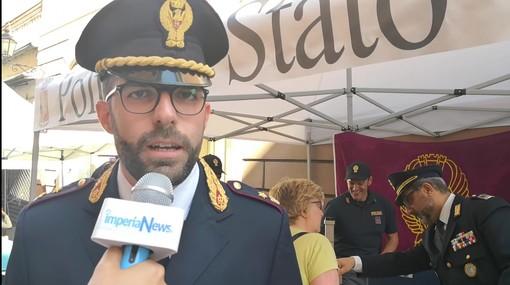 Imperia: la Polizia di Stato presente alla 'Fiera del Libro' con il suo stand informativo '#essercisempre' (Video)