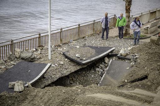 Per la perdita ai Tre Ponti di Sanremo, probabile intorbidamento dell'acqua ad Imperia e nel Golfo Dianese
