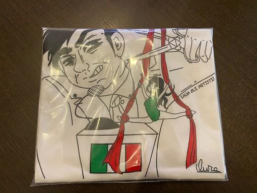 """""""Salva gli artisti"""", con la vendita di t-shirt scatta la solidarietà degli imperiesi 'Fortunello e Marbella' al mondo dello spettacolo"""