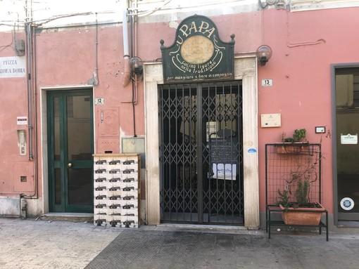 Imperia: eccessivi assembramenti e clienti senza mascherine, multa di 400 euro e chiusura di cinque giorni per 'U Papa'