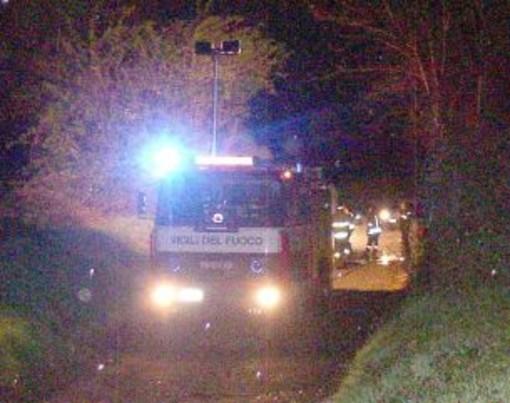 Imperia: fuoriuscita di benzina dal distributore di Via Garessio, intervento dei Vigili del Fuoco