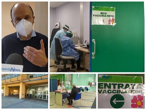 Coronavirus, via alle vaccinazioni al palasalute, ma preoccupano i tempi d'attesa (foto e video)