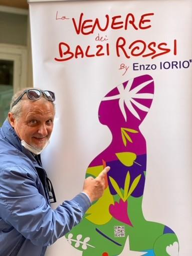 Imperia, anche la Venere dei Balzi Rossi dell'artista Enzo Iorio al Festival della Cultura Mediterrania